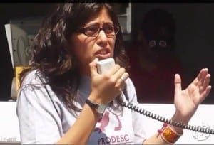 Alejandra Ancheita, a Mexican human rights lawyer, is featured on Moral Courage TV.