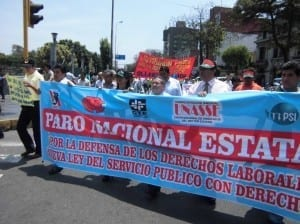 Peru.Rally against Civil Service Law4