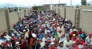 Peru.Worker Assembly Camposol