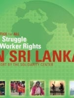 Sri Lanka, Struggle for Worker Rights report cover, Solidarity Center