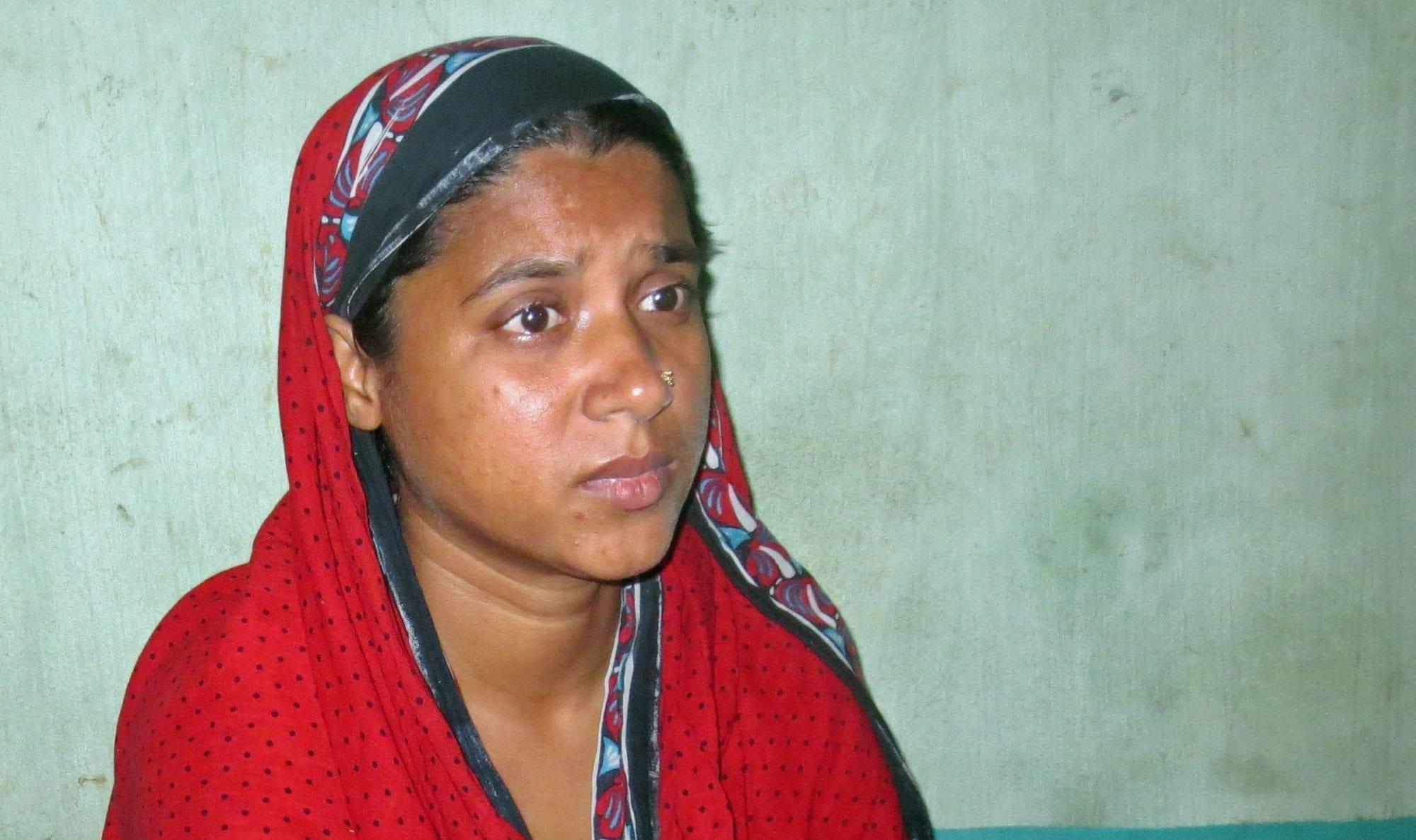 Tazreen Survivor, Tahera: I Am Too Afraid to Sleep