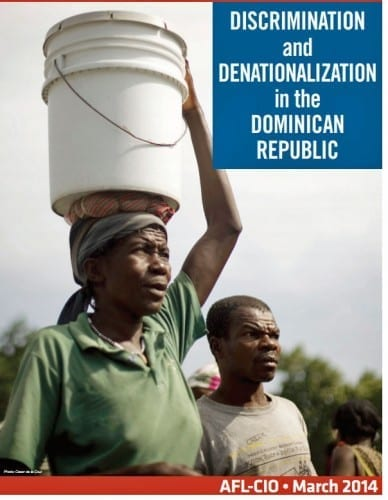 Discrimination and Denationalization in the Dominican Republic