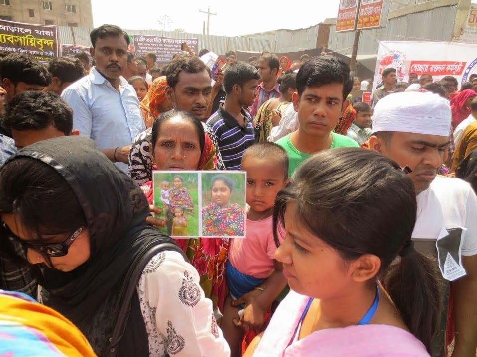 Thousands in Bangladesh Mark Rana Plaza Anniversary