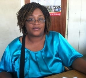 Zimbabwe.Fiona Magaya ZCTU Gender Department Coordinator.jh