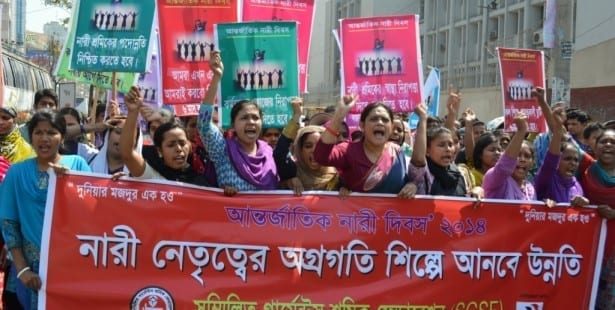 Bangladesh, garment workers, unions, worker rights, Solidarity Center