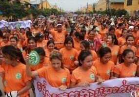 Cambodia, garment workers, Solidarity Center