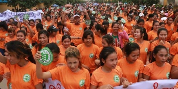 Cambodia, garment workers, Solidarity Center