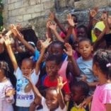 Haiti, earthquake, kids, Solidarity Center