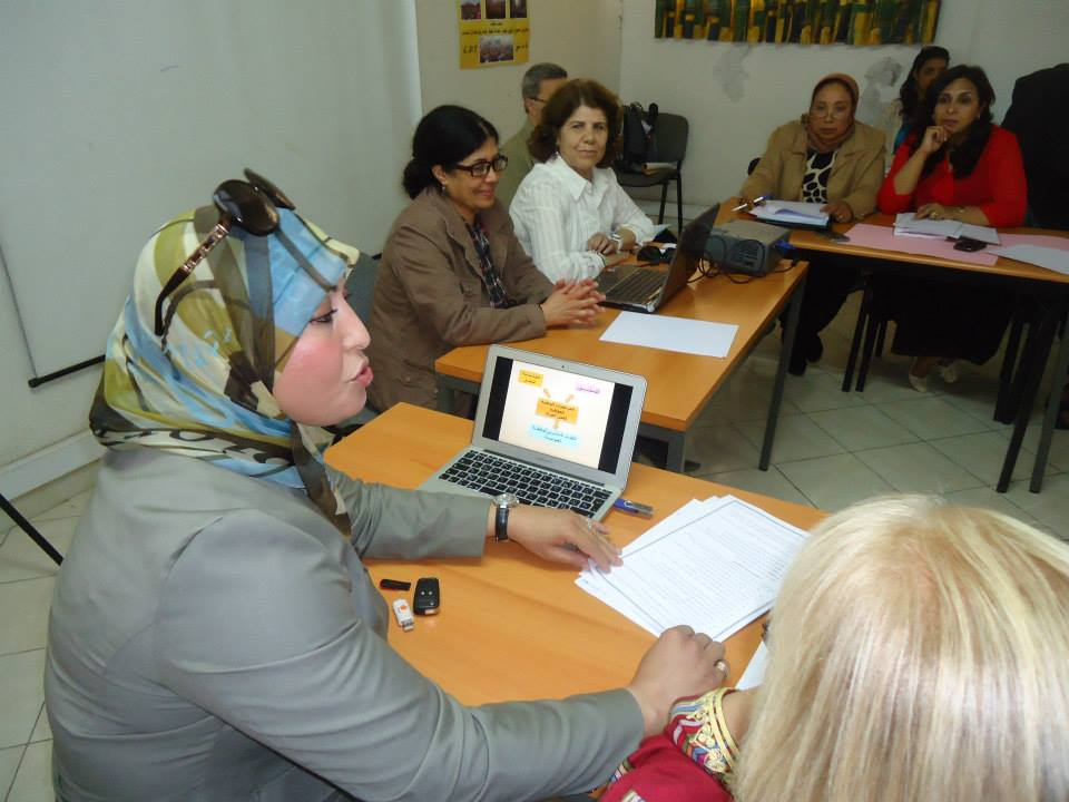 Women trade unionists in Morocco working to launch a push for enforcement of women's rights.