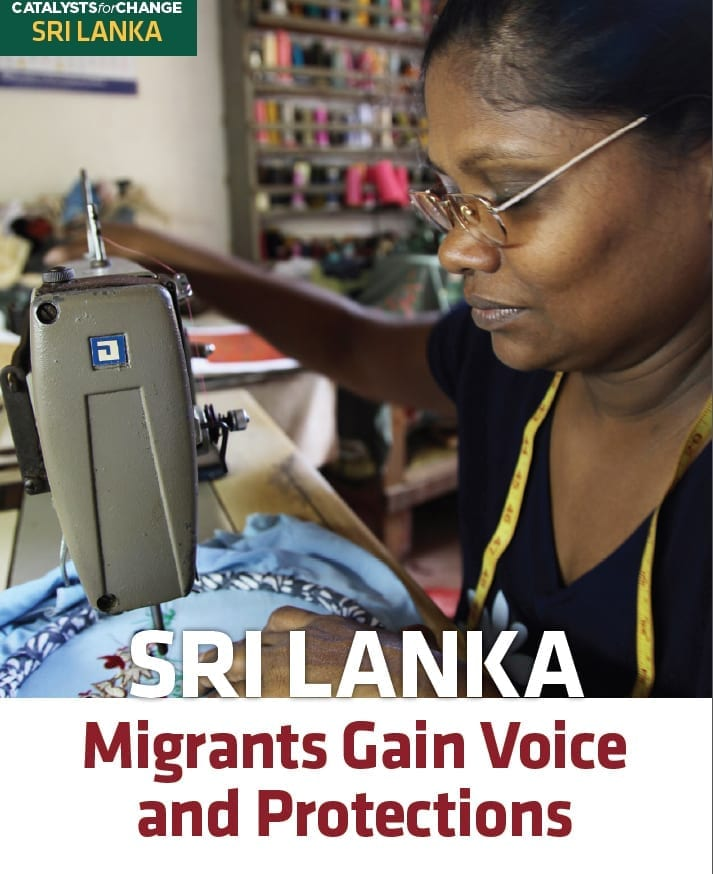 SRI LANKA: Migrants Gain Voice and Protections (2013)
