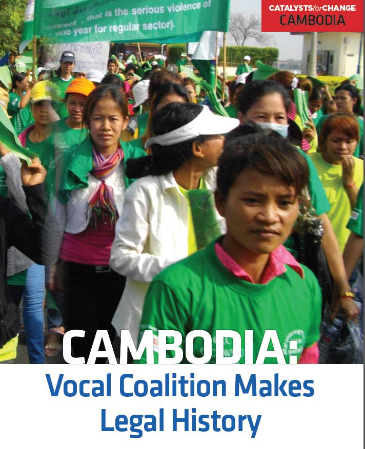 CAMBODIA: Vocal Coalition Makes Legal History (2013)