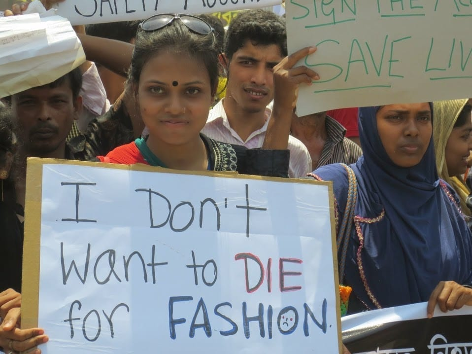 Bangladesh Garment Workers Unions Demand Justice On