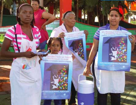 Domestic workers in the Dominican Republic