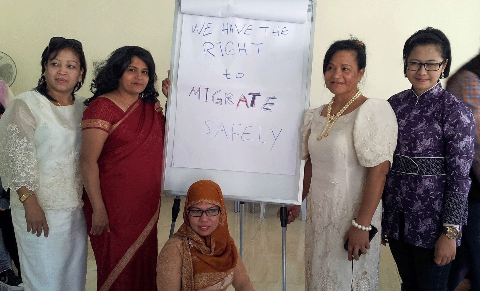 Migrant Workers Send Solidarity Message