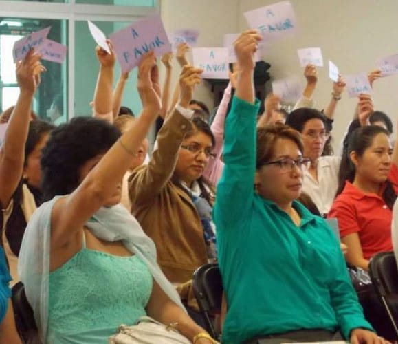 decent work, Mexico, domestic workers, Solidarity Center