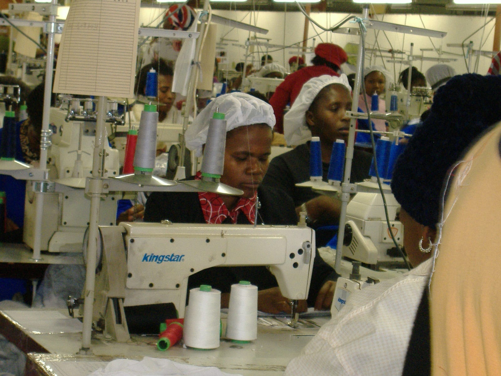 Swaziland, textile workers. unions. worker rights, Solidarity Center