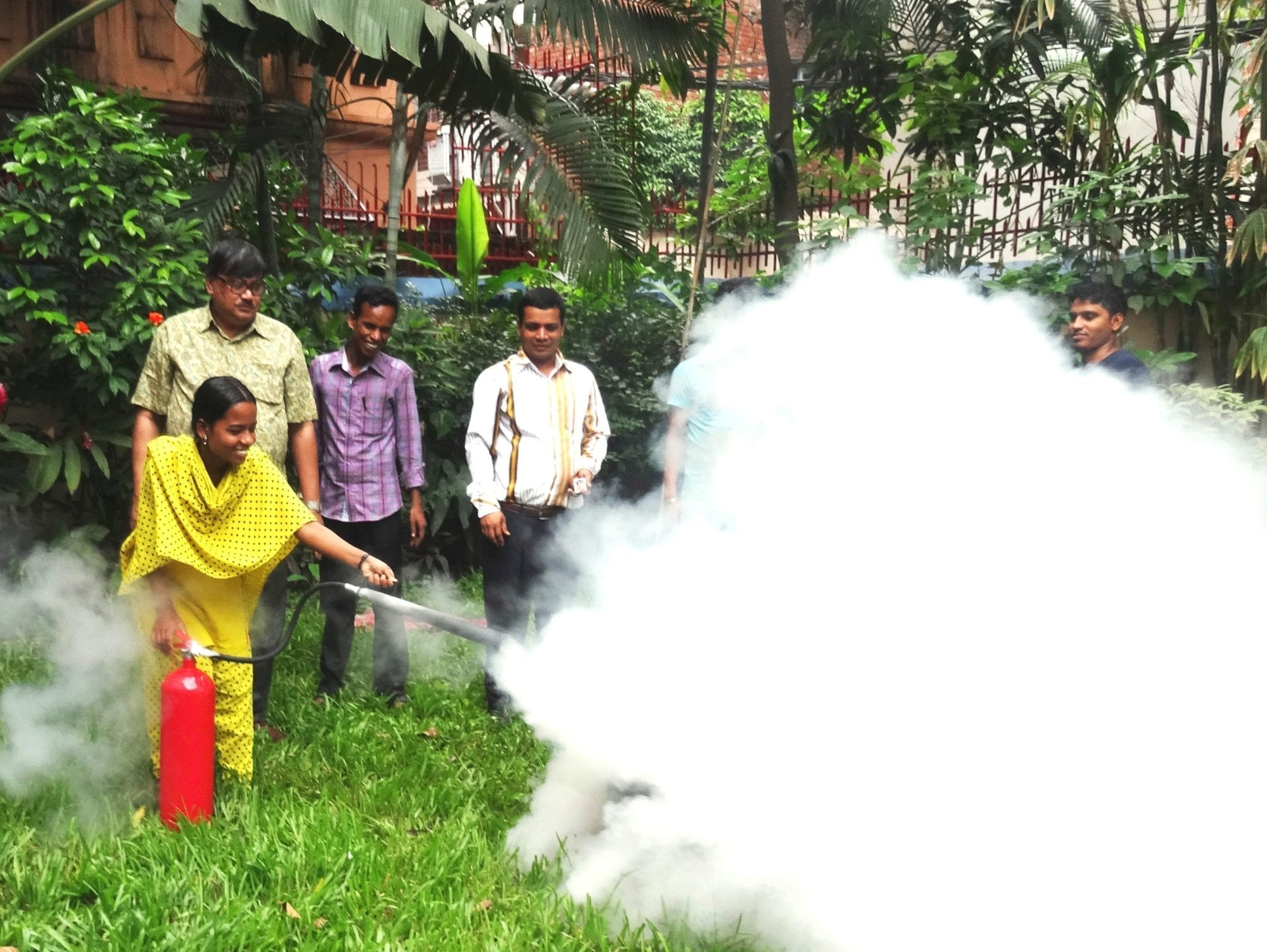 Bangladesh Fire Safety training
