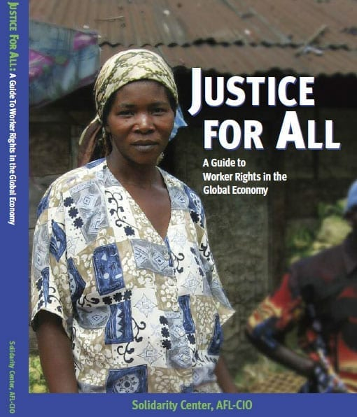 Justice for All cover