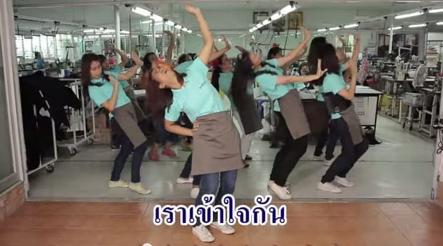 Thai Factory Workers Dance on the Job in New Video