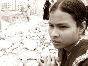 Bangladesh.Rana Plaza 2 Yr Anniversary. Mossamat Mukti Khatun.4.15.Balmi Chisim