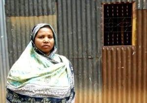 Bangladesh.Rana Plaza 2 Yr. Anniversary.Rana Plaza Survivor Kohinur.April 17, 2015.Balmi Chisim