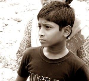 Bangladesh.Rana Plaza 2 Yr. Anniversary.Sheikh Rabbi.Lost his mother in the Rana Plaza4.15.Balmi Chisim