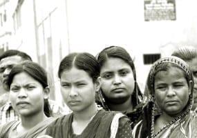 Bangladesh.Rana Plaza Demonstration.4.15.Balmi Chisim