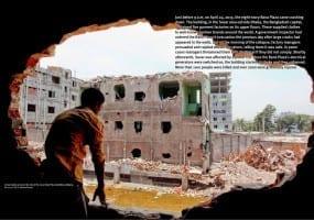 Bangladesh.Rana Plaza rubble.4.15.HRW report