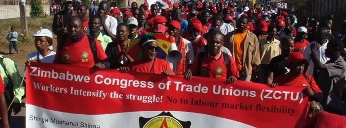 Zimbabwe Unions Set to Protest Repression, Economy