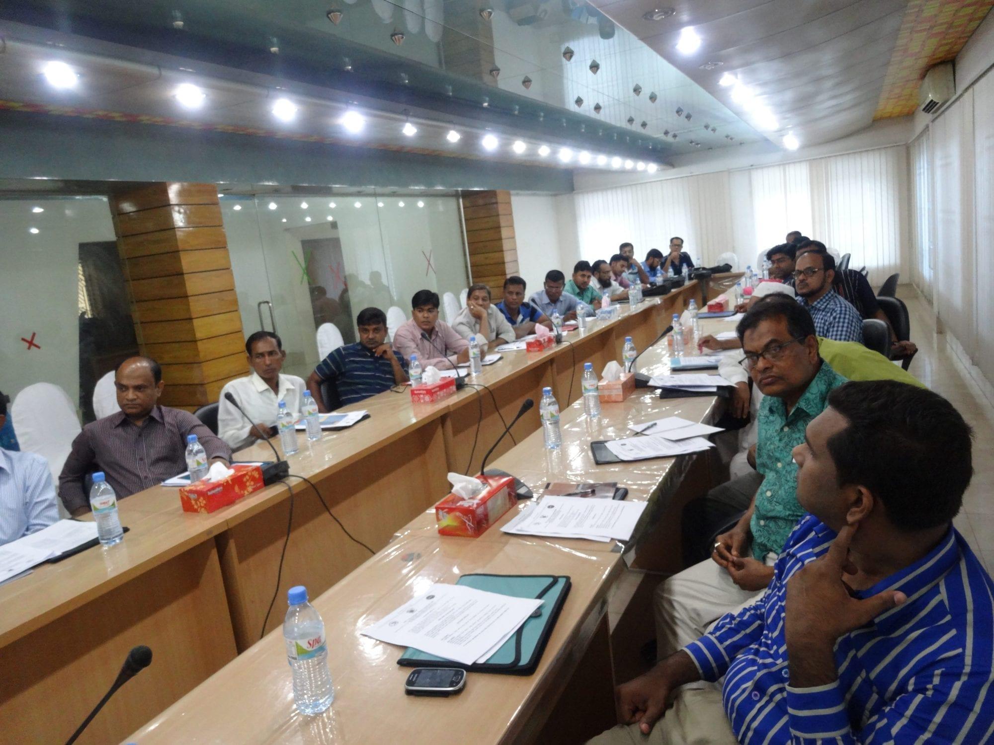 Bangladesh Shrimp workshop