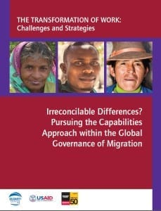 Migration.Cababilities Approach in Global Governance of Migration