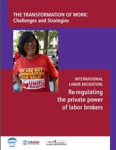 Migration.Reregulating the Power of Labor Brokers