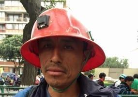 Peru.Mineworker Uchucchacua strike .5.15.st.crop