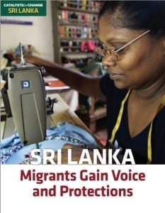 Sri-Lanka Migrant Workers Gain Voice and Protection