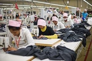Cambodia Garment workers