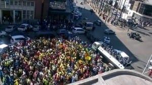 Zimbabwe, informal economy, Solidarity Center, worker rights, unions, street vendors