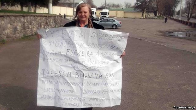 Human Rights Defender Elena Urlaeva Released
