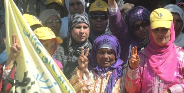 Morocco, women, agriculture workers, union, bargaining agreement, Solidarity Center