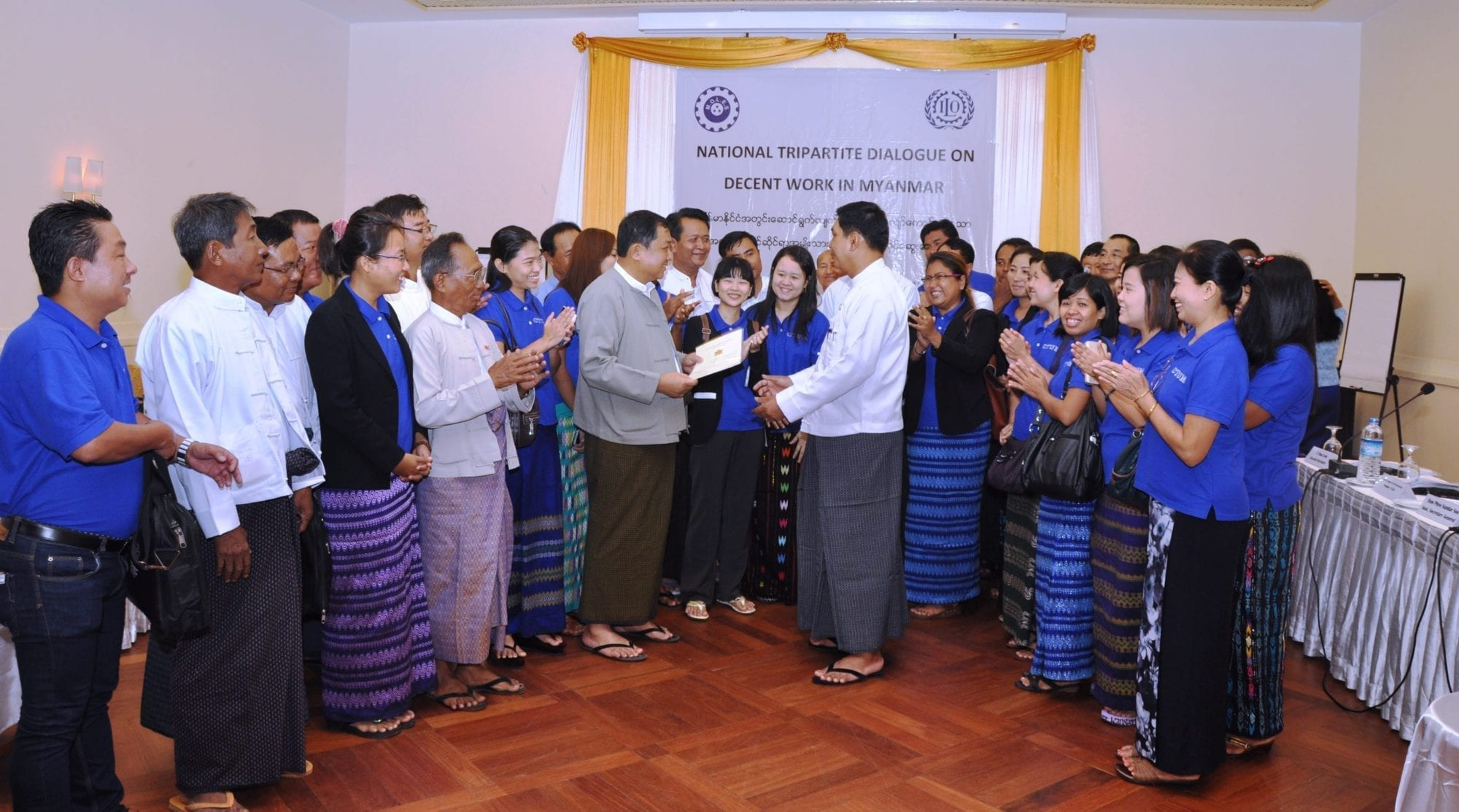 Myanmar Officially Recognizes Trade Union Confederation