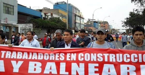 Peru, construction unions, Solidarity Center