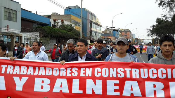 Peru, construction unions, Solidarity Center