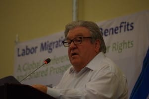 migrant workers, Jim Boland, Solidarity Center