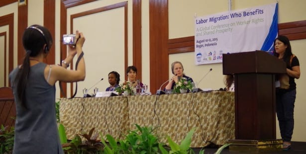 migrant workers, gender-based violence, Solidarity Center