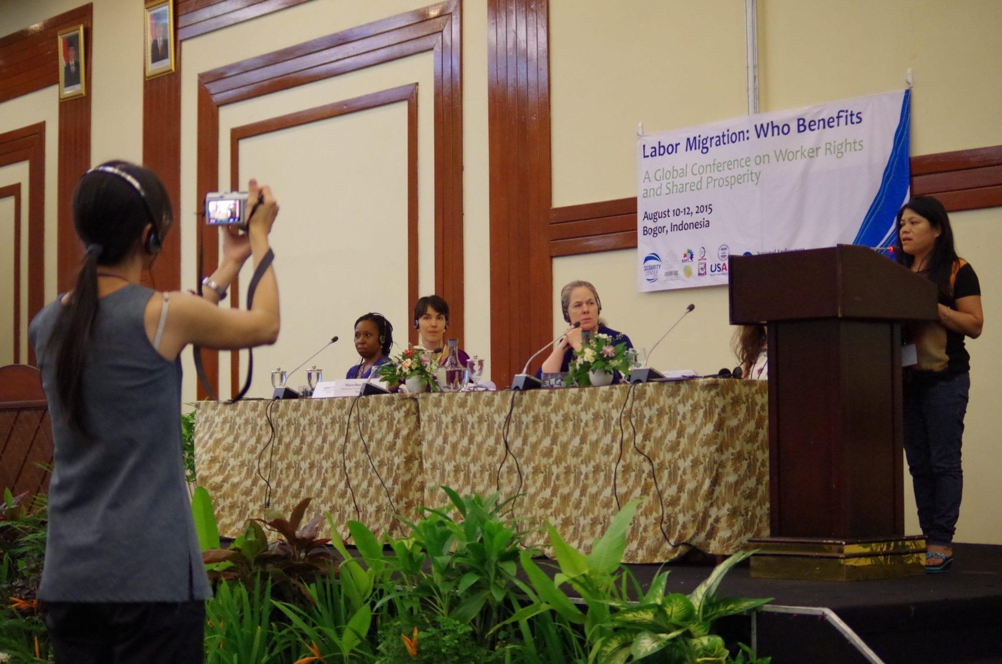 Vulnerable Workers Targets of Gender-Based Violence