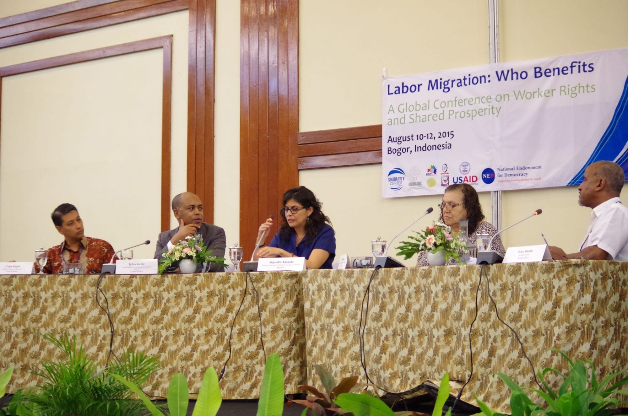 migrant workers, Solidarity Center, Tefere Gebre, AFL-CIO
