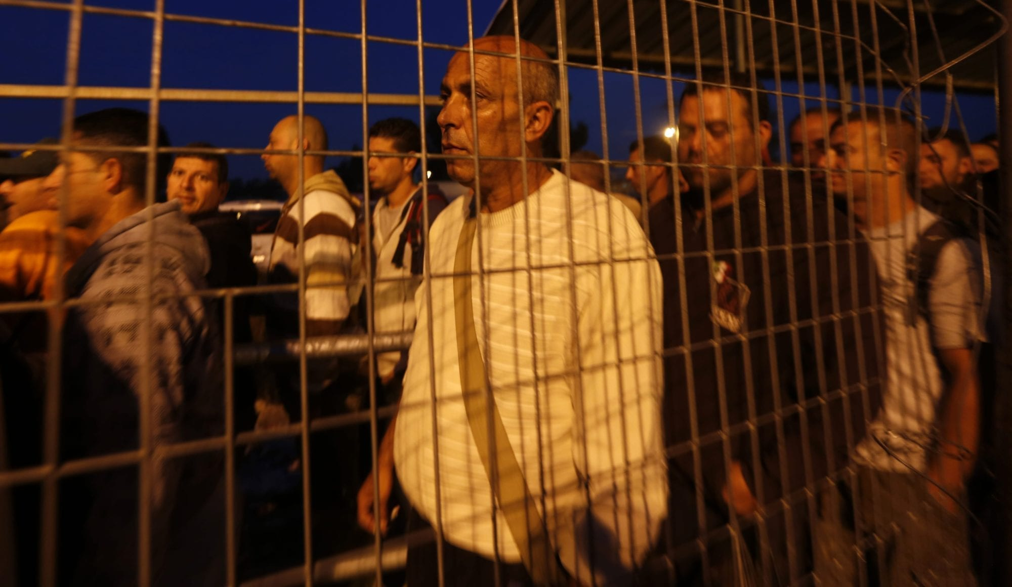 Palestine, Israeli border crossing, Solidarity Center