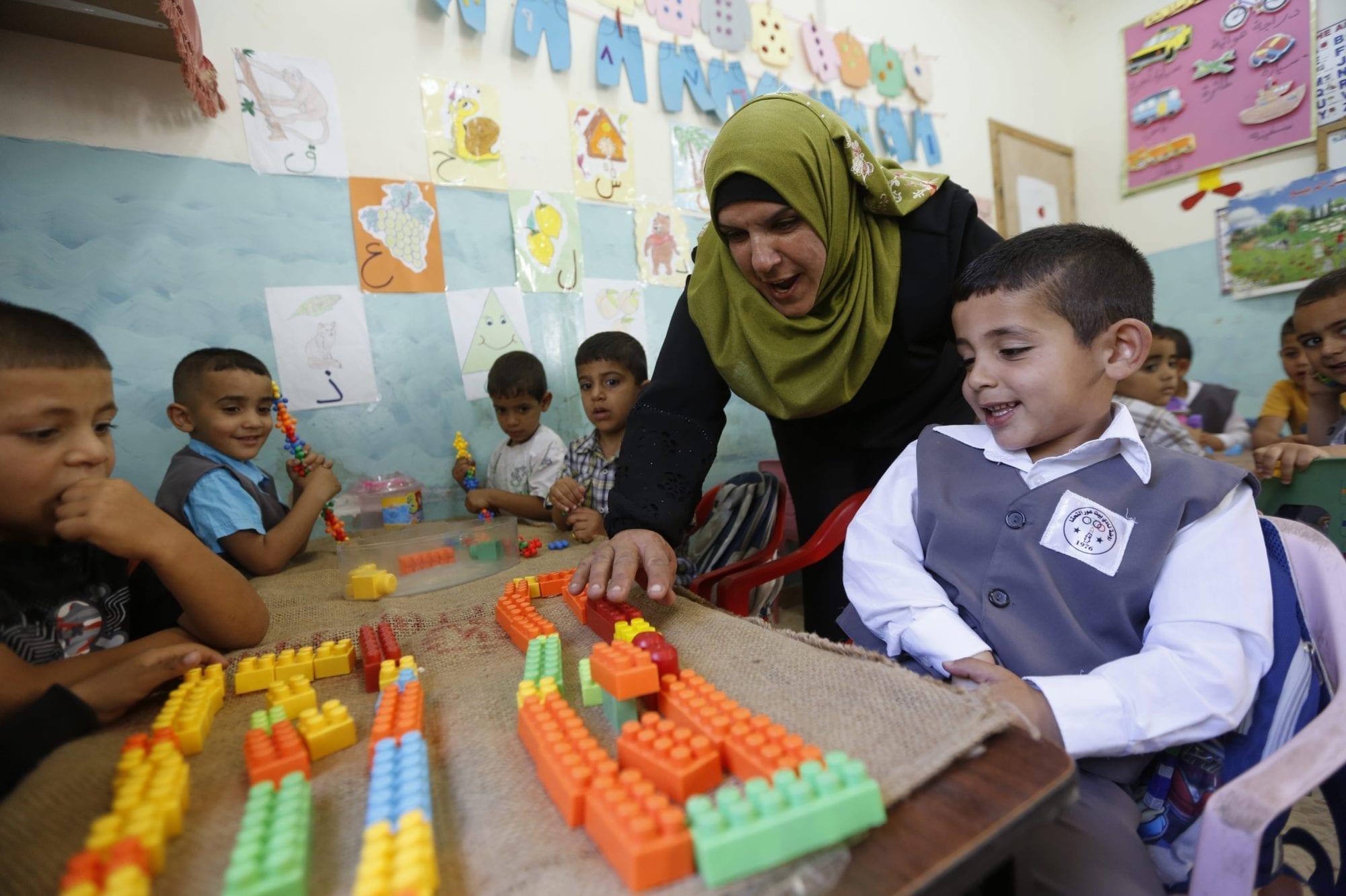 Palestine, kindergarten teacher, Solidarity Center