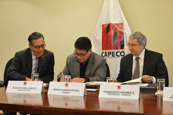 Peru Construction Workers Win New Pact, Rights