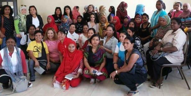 Jordan, domestic workers, Solidarity Center