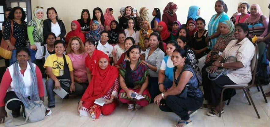 Jordan, domestic workers, Solidarity Center